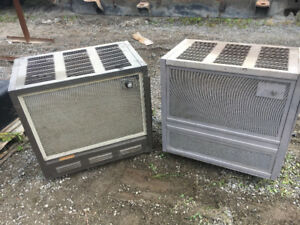 2 wood chief wood stoves
