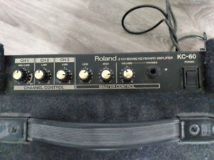 Roland KC-60 - 3 Channel Mixer Keyboard Amp