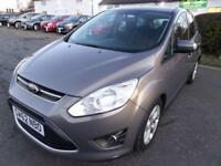Ford C-MAX 1.6 (105ps) 2012 Zetec, EXCELLENT CONDITION, 6 MONTH WARRANTY.