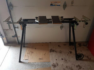 COMPOUND MITER SAW FOLDING STAND