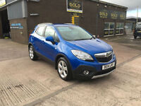 2014 VAUXHALL MOKKA 1.7 CDTi 16 v eco FLEX FWD EXCLUSIVE 4X4 £30 ROAD TAX