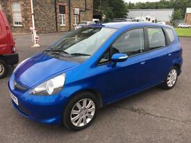 5707 Honda Jazz 1.4i-DSI SE Blue 5 Door 75467mls MOT 12m