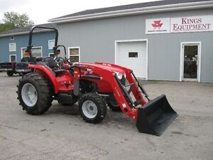 Massey Ferguson 48 Hp Tractor with Loader