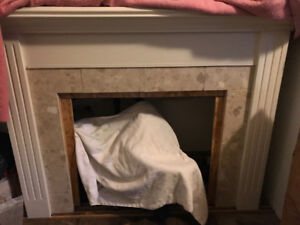Fireplace Mantle for Electric Insert - Reduced!