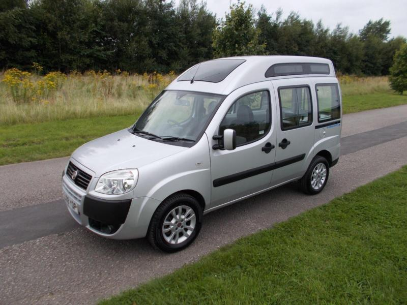 2009 09 fiat doblo high roof 1 9 multijet campervan motor home day van camper in blackpool. Black Bedroom Furniture Sets. Home Design Ideas