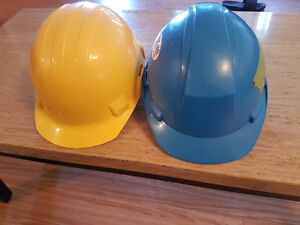 2 Hard hats good condition $10