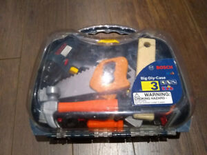 Toy Bosch and home depot tools