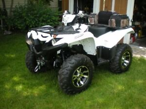 NEW YAMAHA GRIZZLY WHITE 700 CC FOR SALE OR TRADE