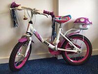 "Apollo Pixie 14"" Girls bike - great condition"