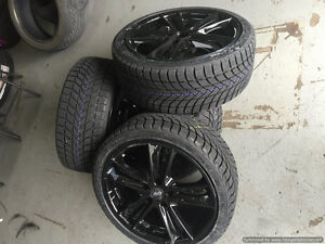 18 inch DAI Razor Wheels + 225 / 40 R18 Xice Replica Tires
