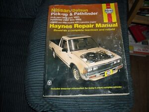 NISSAN PICKUP 80 TO 97 AND PATHFINDER  87 TO 95 HAYNES