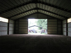 50 by 80 ft steel building for storage