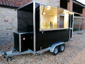 Catering trailer ready to trade