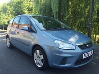 FORD FOCUS C MAX STYLE LOW MILEAGE FULL MOT NO ADVISORIES FULL SERVICE HISTORY