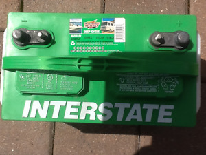 Interstate deep cycle battery