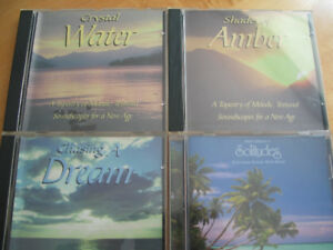 4 RELAXATION CDS FOR SALE