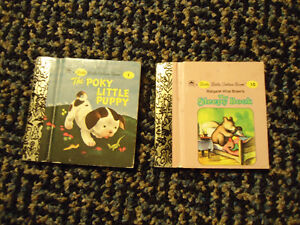 A Little Little Golden Book Set of 2 Books #1 and #10 Hardback. Kingston Kingston Area image 1