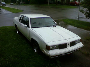 1987 Oldsmobile Cutlass projet drag