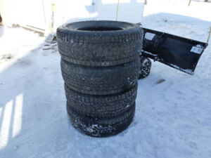 Winter Tires 265-70-17 Studded