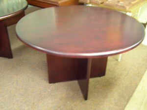 "48"" round office table"