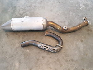 2008 YZ250F Exhaust System