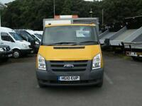 2010/10 FORD TRANSIT T350 DRW RWD S/CAB ALUMINIUM CAGED DROPSIDE DIESEL