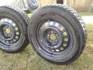"""17 """" Winter Tires and Rims"""