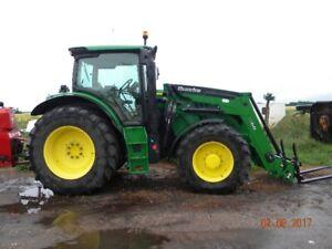 2015 JD 6140 R Tractor + Loader