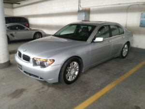 BMW 745I 2003 ***  en excellente condition à qui la chance***