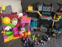 Imaginext Batman toy bundle