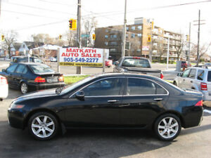**2004 Acura TSX 5 speed** Leather & Sunroof, Cert & E-tested