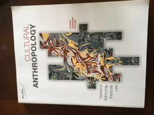 Cultural anthropology text book with online access code