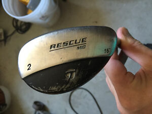 Nike driver & Taylormade hybrid 2 rescue
