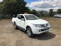Mitsubishi L200 DOUBLE CAB DI-D 178 WARRIOR 4WD AUTOMATIC DIESEL WHITE (2016)