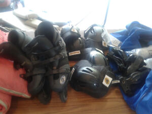 mens inline skates size 10. Oz 3 oxygen and accessories
