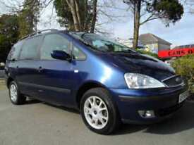 FORD GALAXY 1.9TD 2003 7 SEATER COMPLETE WITH M.O.T HPI CLEAR INC WARRANTY