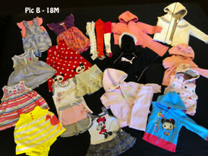 Gorgeous Baby Girl Clothes 18M + 18M-24M (201 Items)