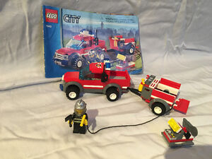 LEGO City 7942 Fire Truck and Trailer