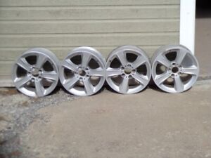 BMW MAGS 17X8 SET OF 4