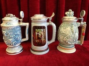 AVON BEER STEINS  6 TOTAL $35 each -CHECK MY OTHER ADS----- Windsor Region Ontario image 1
