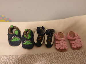 Baby booties and Sandles