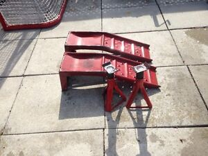 Jack stands and ramps