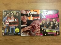 Viva la bam series 1-5. Bam Margera Jackass spin off. 3 DVD box sets