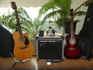 Guitars and Amp for sale