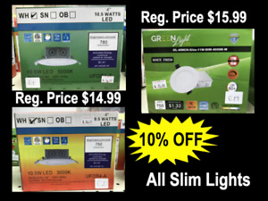 10% OFF Slim Lights