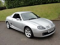 MG TF Cool Blue (silver) 2003