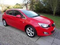 VAUXHALL ASTRA 1.6sri 2012 Petrol Manual in Red