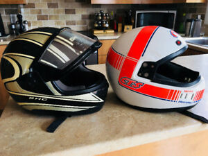 Casque  Moto / Motoneige - Medium Adulte