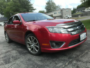 2012 Ford Fusion  SEL, EXCELLENT CONDITION , RED 102,000