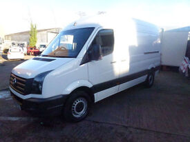Volkswagen Crafter 2.0TDi ( 136PS ) CR35 MWB 2011